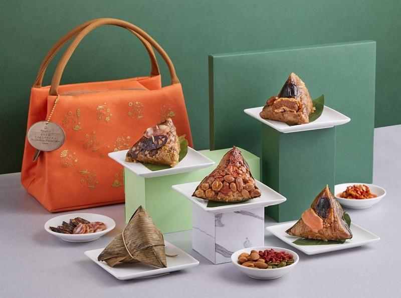 台南遠東香格里拉飯店粽子禮袋預購開跑 龍蝦、和牛十六款手工粽