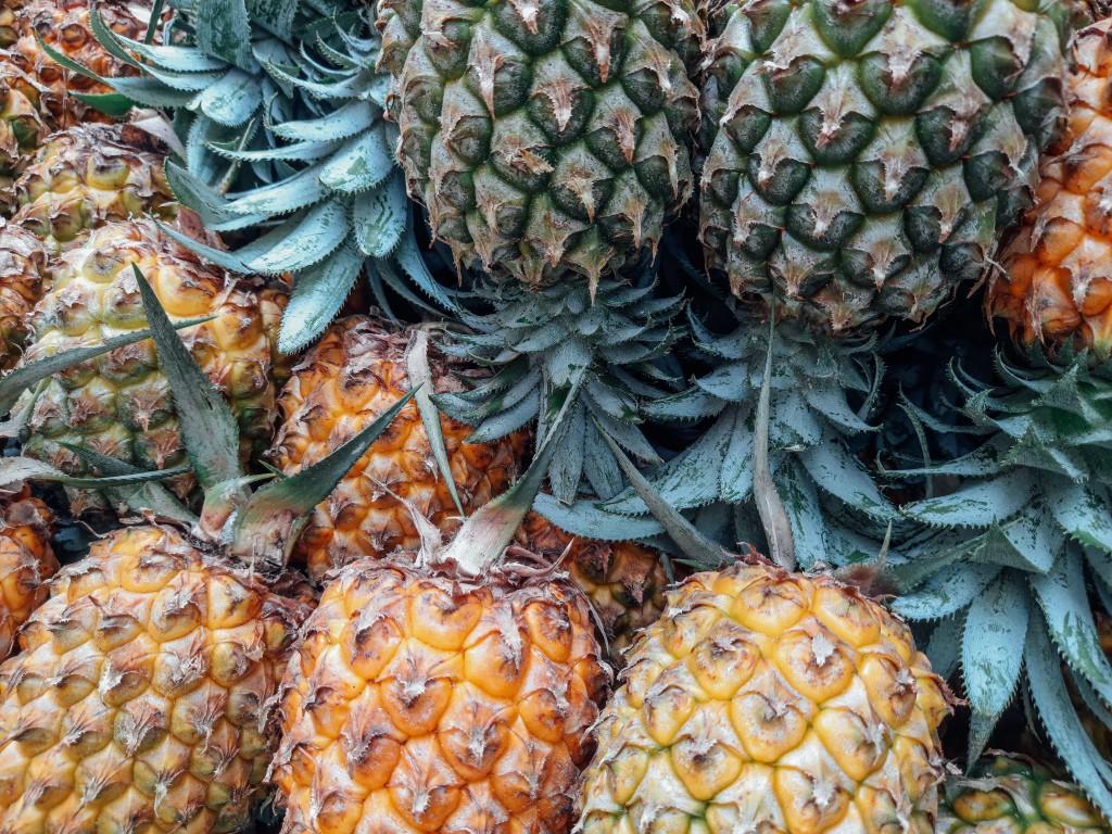 Pineapples(Unsplash photo)