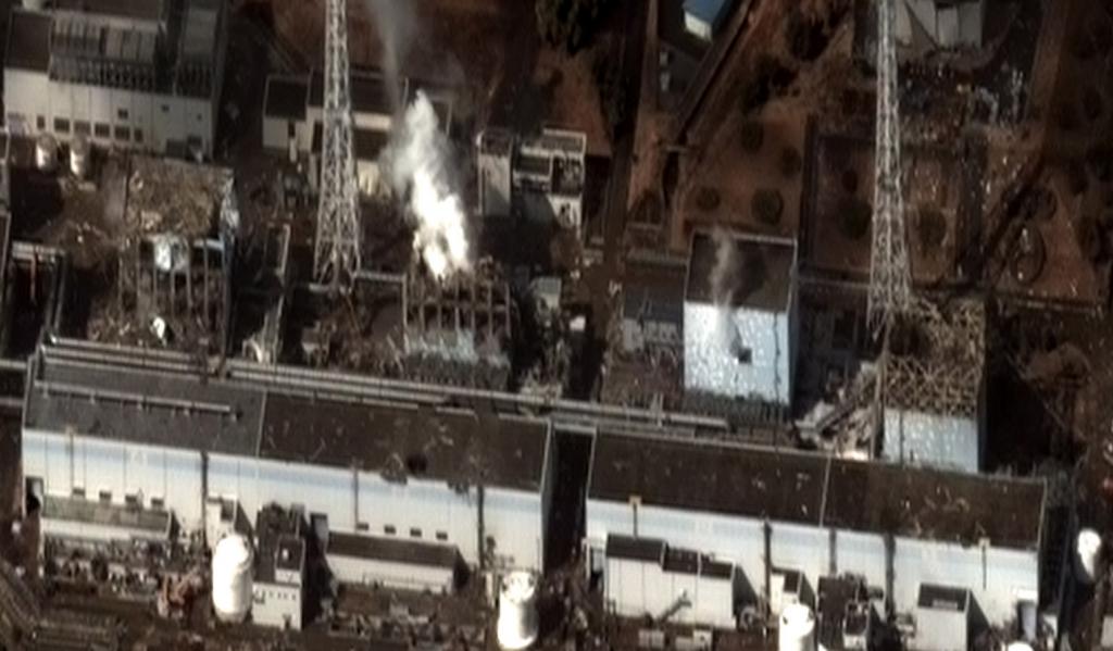 福島第一核電廠事故(圖/維基百科)