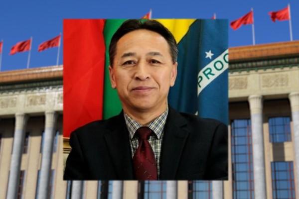 Chinese diplomat Li Yang (Twitter, Li Yang photo)