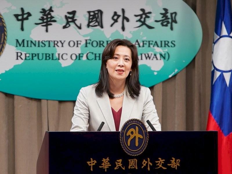 圖為外交部發言人歐江安。(圖/外交部提供)