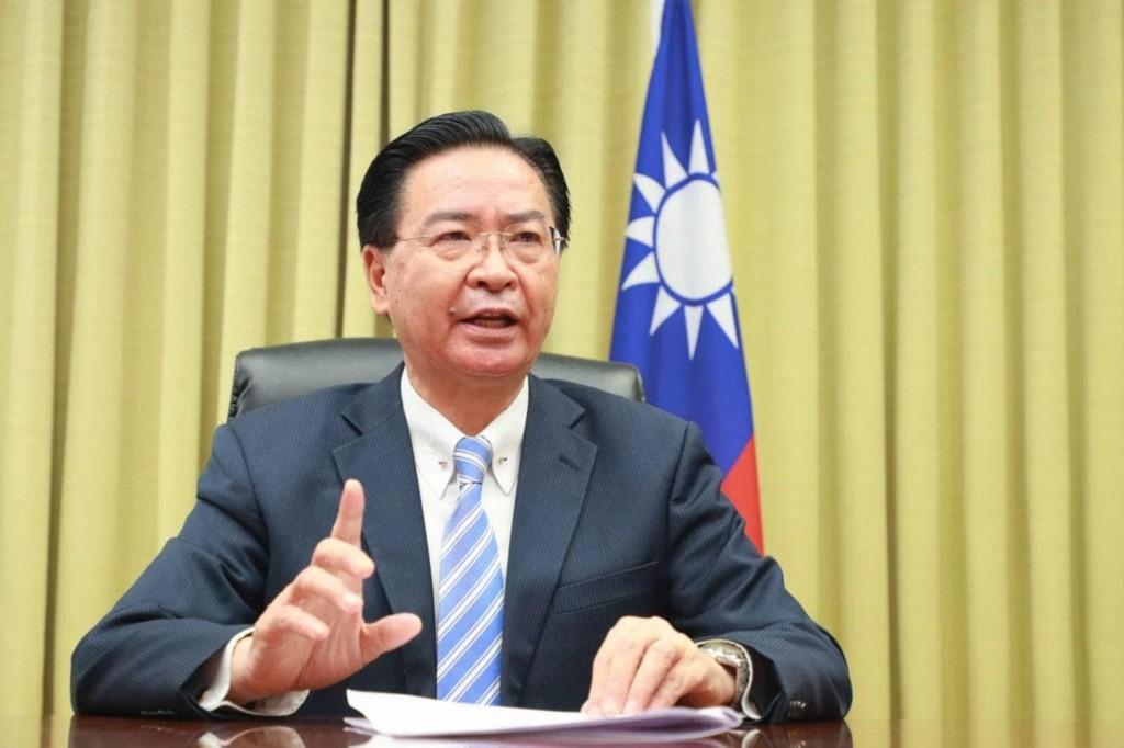 外交部長吳釗燮(來源:中央社 檔案圖片)