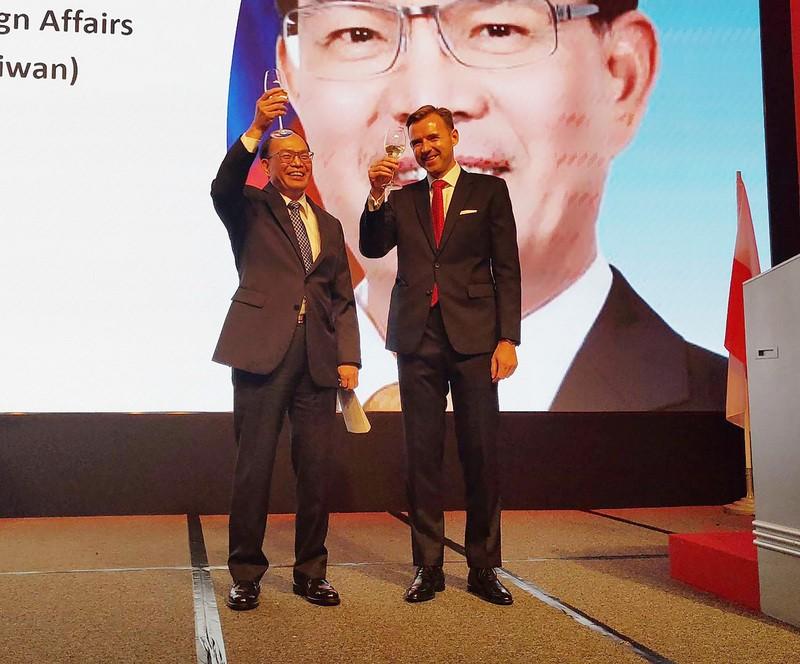 波蘭台北辦事處6日舉辦五三憲法節暨國慶日酒會