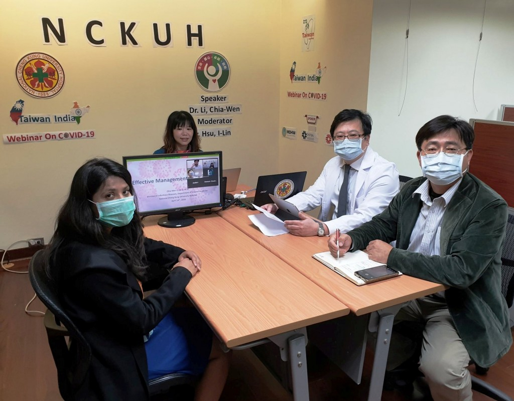 NCKUH playing key role in Taiwan's COVID emergency relief to India