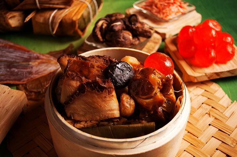 美麗信冠軍肉粽  端午名粽香 傳情飄香意