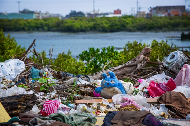 Marine litter in Taiwan (Business Today photo)
