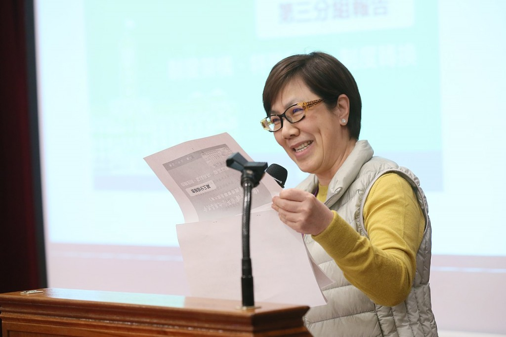 Annie Lee, daughter of late Taiwan President Lee Teng-hui. (Office of the President photo)