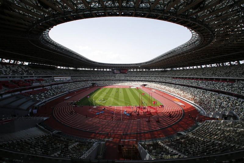東京奧運場館、日本國立競技場(圖/美聯社)