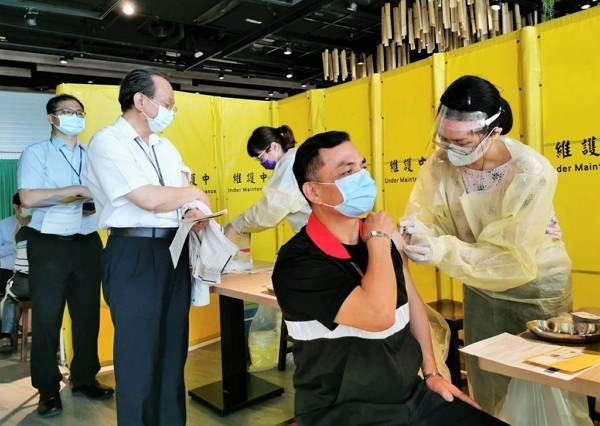 Over 92,000 people in Taiwan have received their first dose of COVID-19 vaccine.