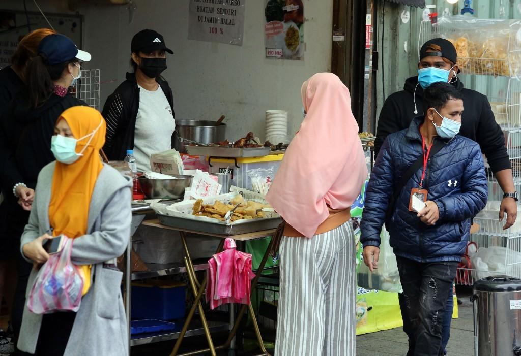 Indonesian workers in Taiwan