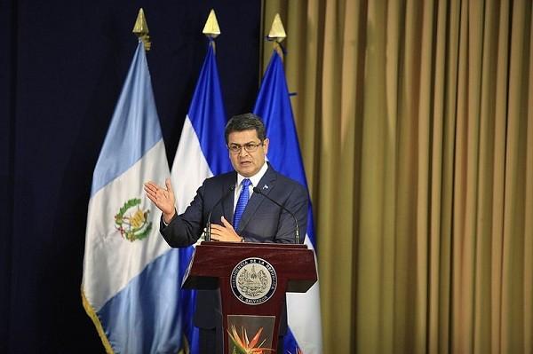 HonduranPresidentJuan Orlando Hernandez