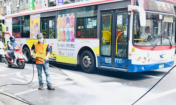 New Taipei to carry out citywide sanitization on Friday. (Facebook, Hou You-yi photo)