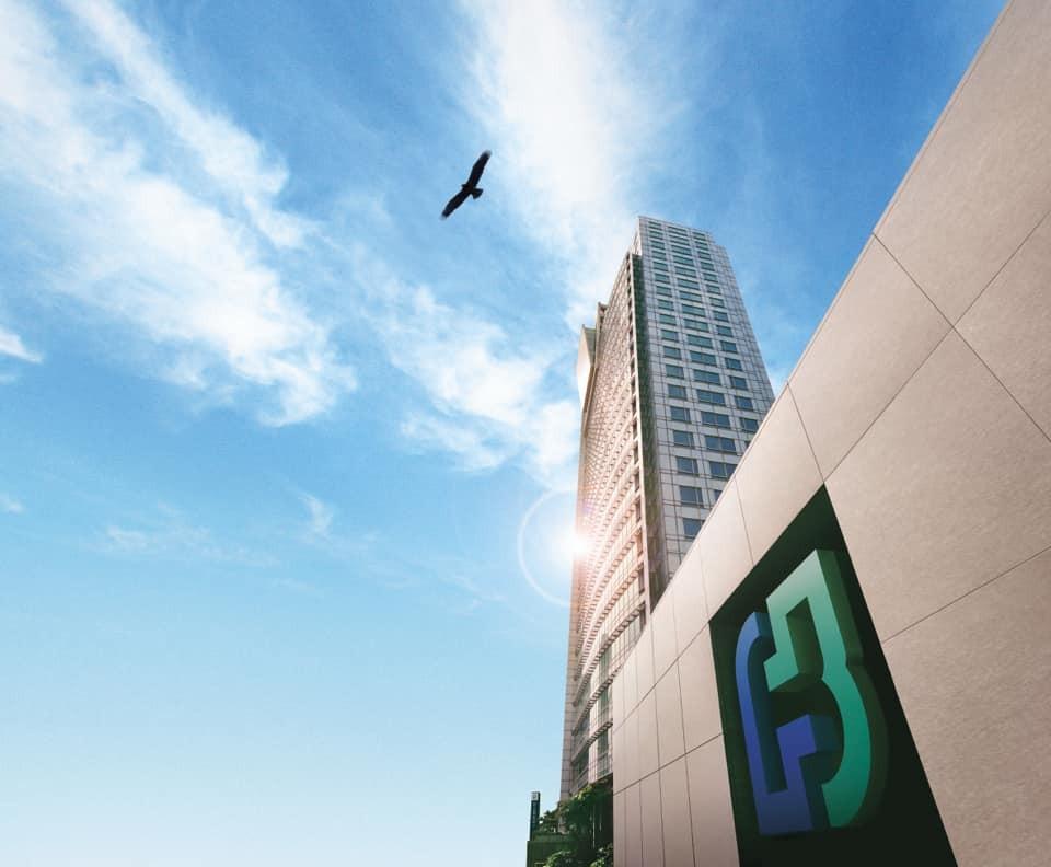 The Fubon Financial Holding headquarters on Taipei City's Renai Road (Facebook, FUBON photo)