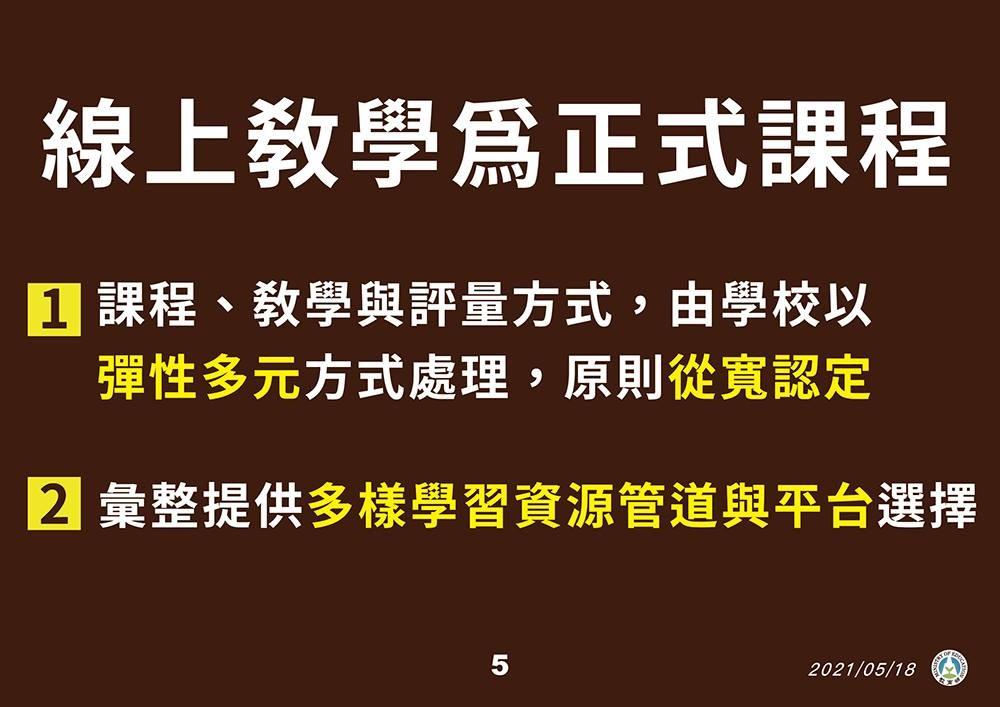 台灣新冠疫情延燒 全國各級學校明起停課至28日