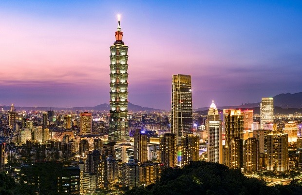 Taipei skyline. (Getty Images)