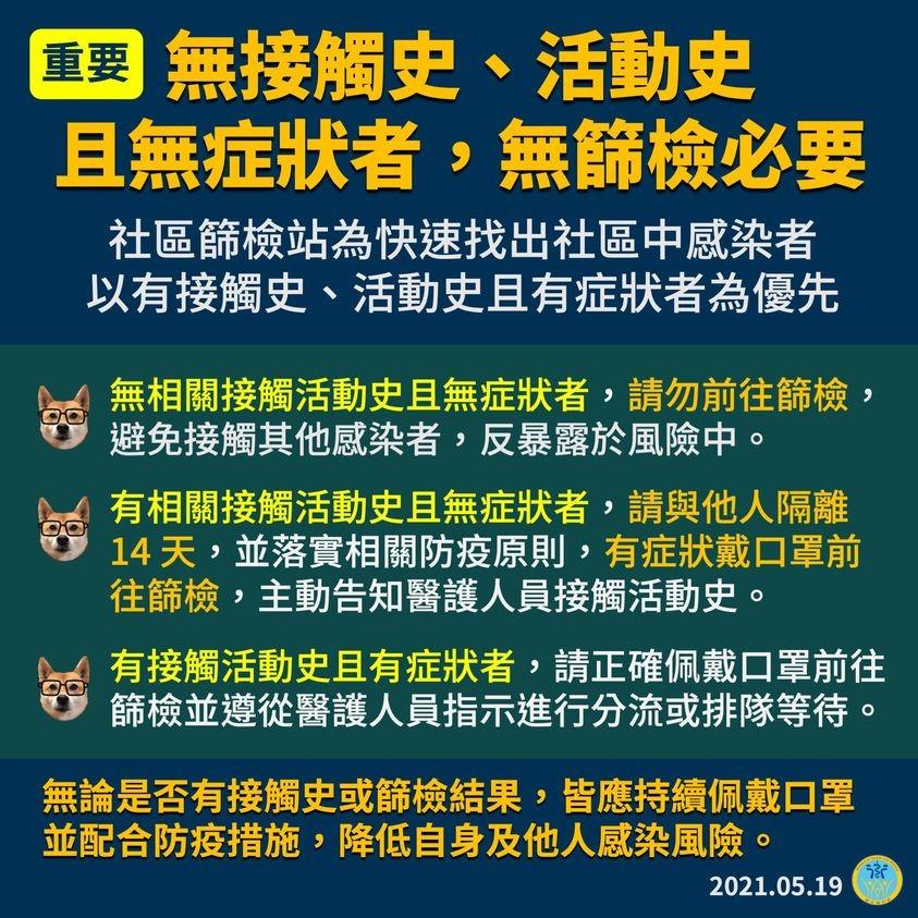 【武肺快篩報你知】北市徵召台灣退休、離職醫護支援防疫 柯文哲: 陽性率若降到3%•就表示疫情已有效控制!