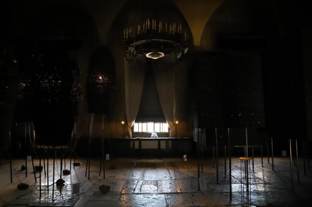第17屆威尼斯雙年展台灣館自即日起11月21日於前身為監獄的普里奇歐尼宮展出(圖/國美館)