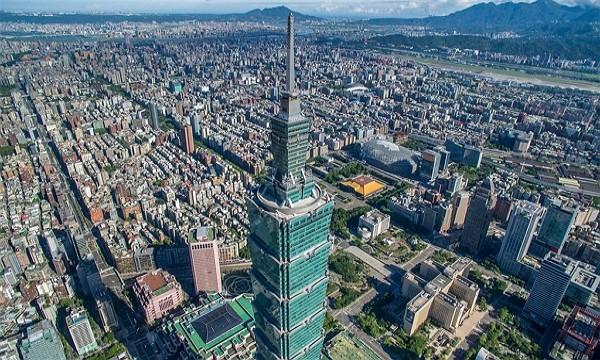 (Taipei 101 photo)