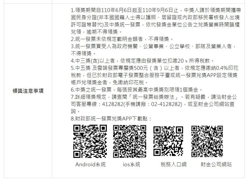 【最新】台灣統一發票110年3-4月開獎! 千萬獎號碼:59518250