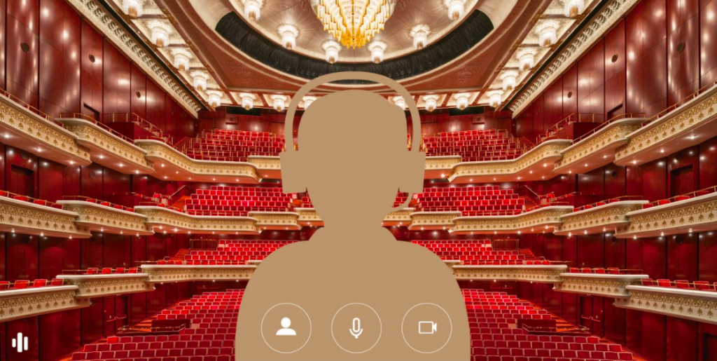 Taiwan's National Theater and Concert Hall launched eight photos to be used as online meeting backgrounds. (NTCH photo)