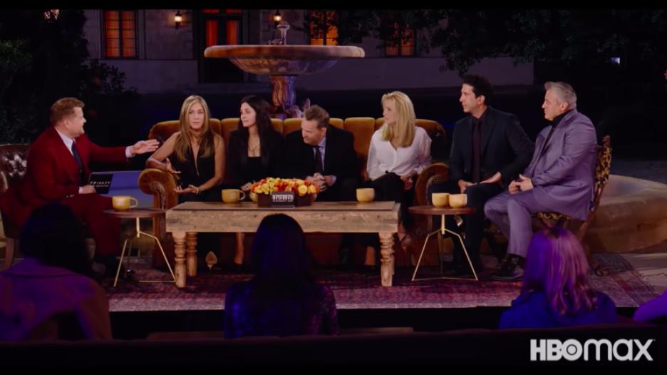 《六人行:當我們又在一起》已於27日HBO Max首播,29日晚間7點10分將在該頻道重播。(圖擷取自官方預告)
