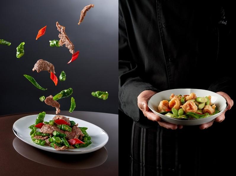 台北美福外帶Part II 米其林餐盤推薦餐廳上桌