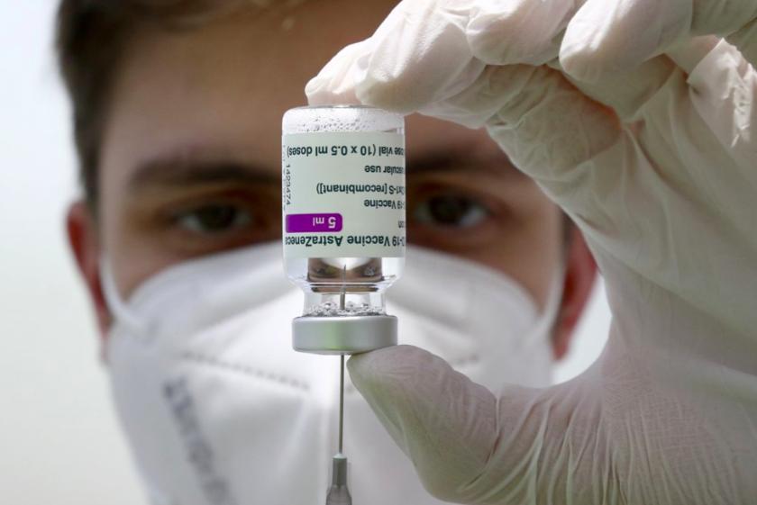 中央流行疫情指揮中心28日對日本有意捐贈疫苗表達感謝(圖/美聯社)