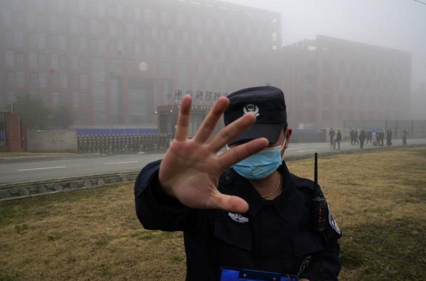 美國呼籲中國應開放面對全球疫情朔源調查(圖/美聯社)