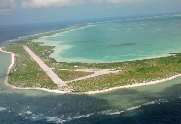Canton Island's runway was built by U.S. military during WWII. (Wheeler Expeditions photo)
