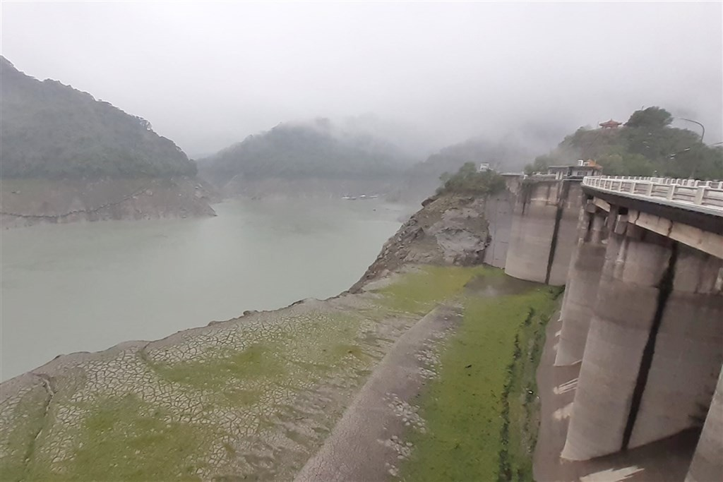 Shihmen Reservoir. (Northern Region Water Resources Office photo)