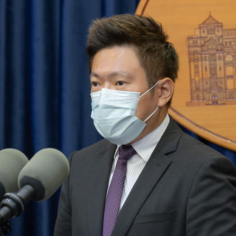 Presidential Office Spokesperson Chang Tun-Han (Facebook,Presidential Office photo)