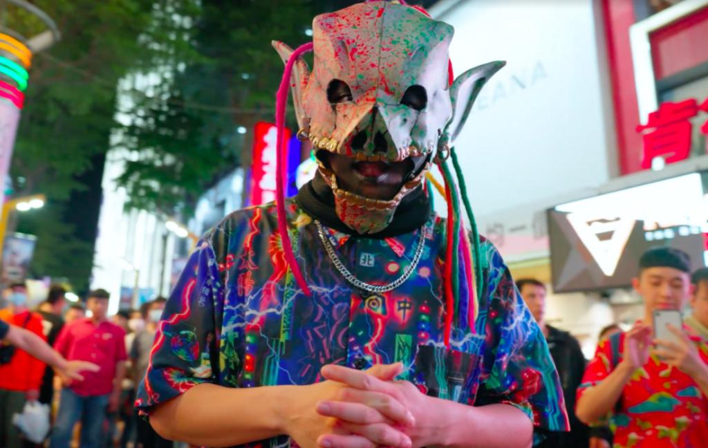 台灣台語金屬搖滾樂團血肉果汁機將於西班牙巴賽隆納春之聲音樂節連線演出(圖/血肉果汁機_貴人散步音樂節提供)