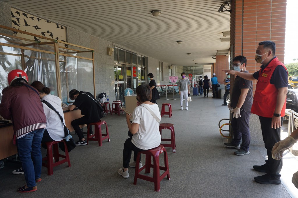 COVID screening in Kinmen County