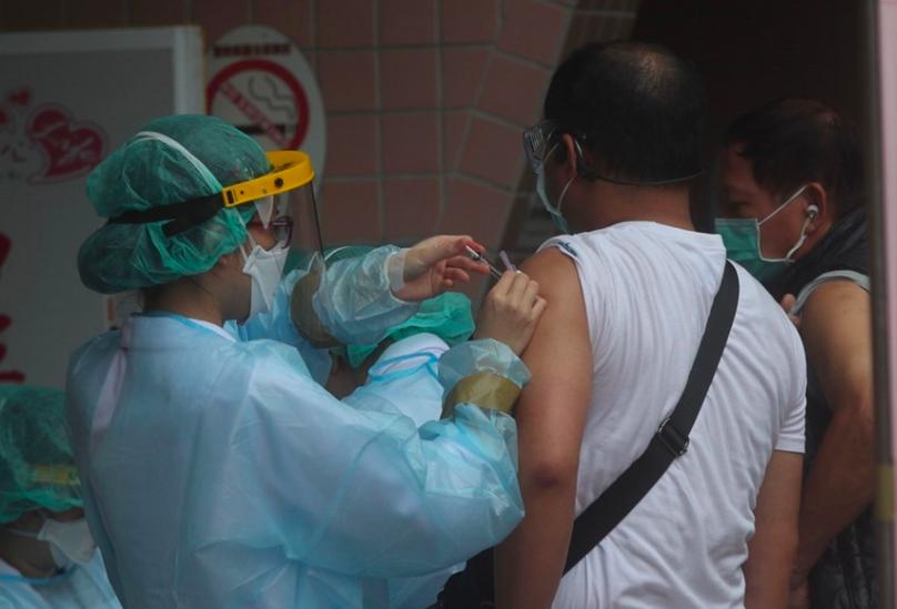 「疫苗接種預約平台」預計六月底上路(圖/中央社)