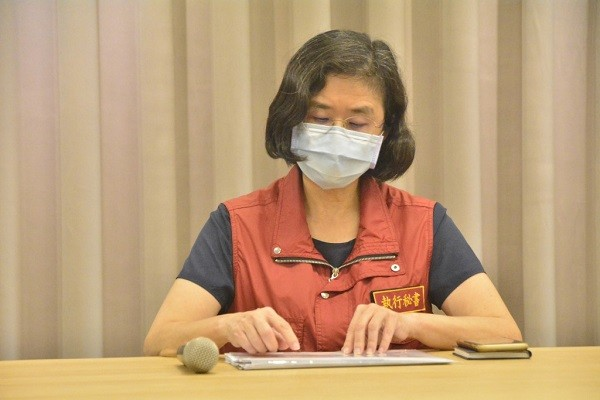 New Taipei Department of Health Director Chen Ran-chou