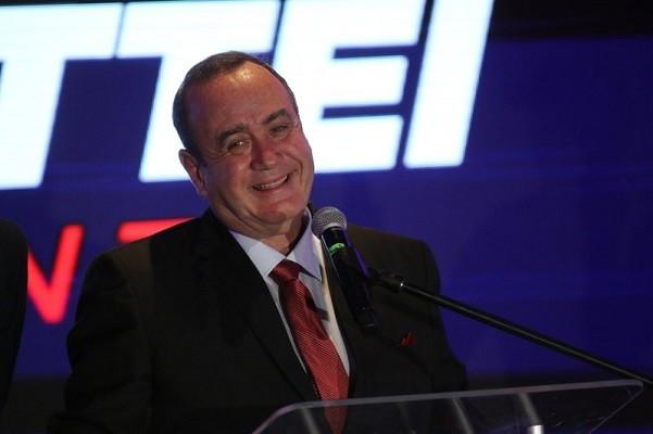 Guatemalan President Alejandro Giammattei