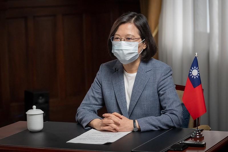 Taiwan President Tsai Ing-wen (Presidential Office photo)