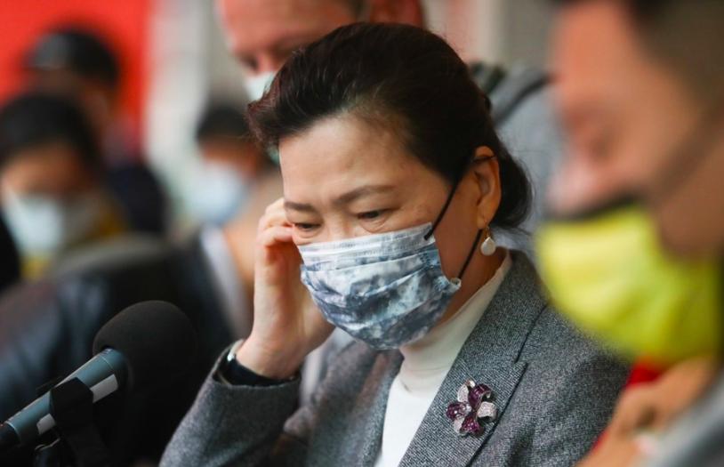 經濟部長王美花和確診員工有接觸史,部長篩檢為陰性已開始進行居家隔離。(圖/中央社)