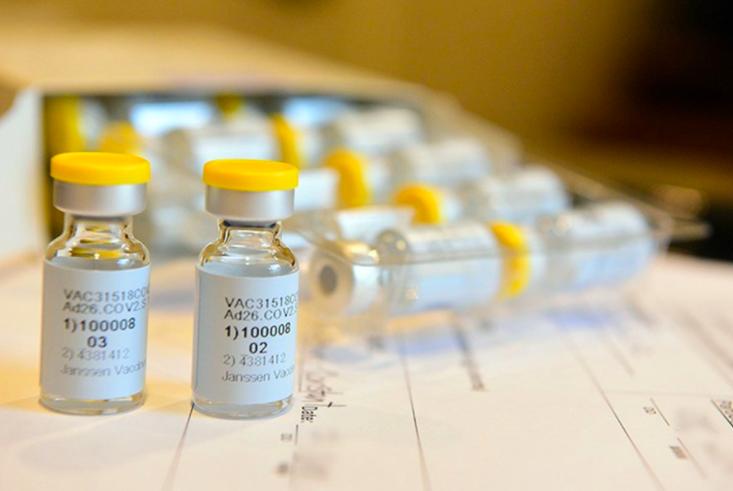 衛福部食藥署5日證實,正在進行輝瑞BNT與嬌生疫苗的緊急使用授權。(圖取自嬌生網頁jnj.com)