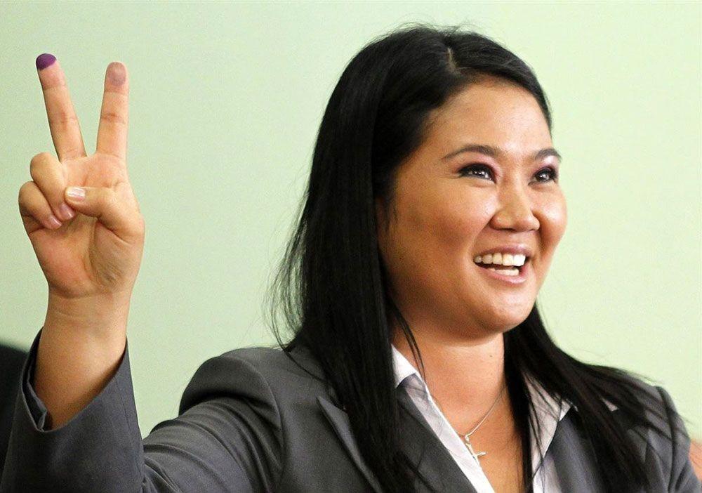 Peruvian presidential candidate Keiko Fujimori (MercoPress photo)