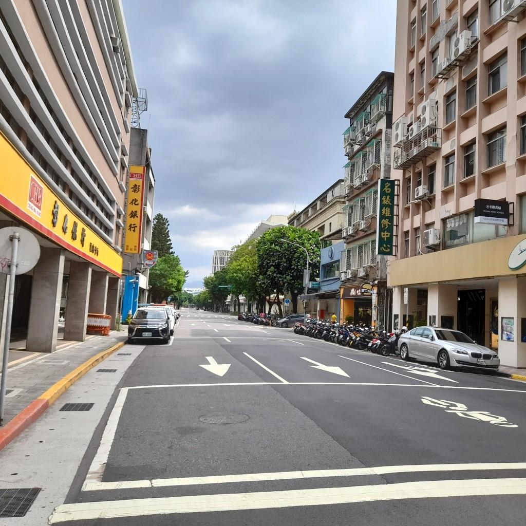 台北街頭。(照片由Taiwan News 林靜怡拍攝)