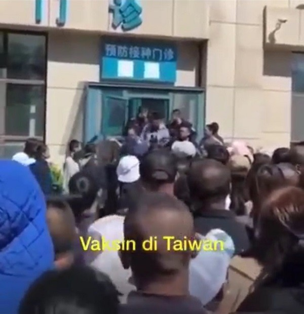 Video of COVID chaos in 'Taiwan' posted by Malaysian minister actually of China