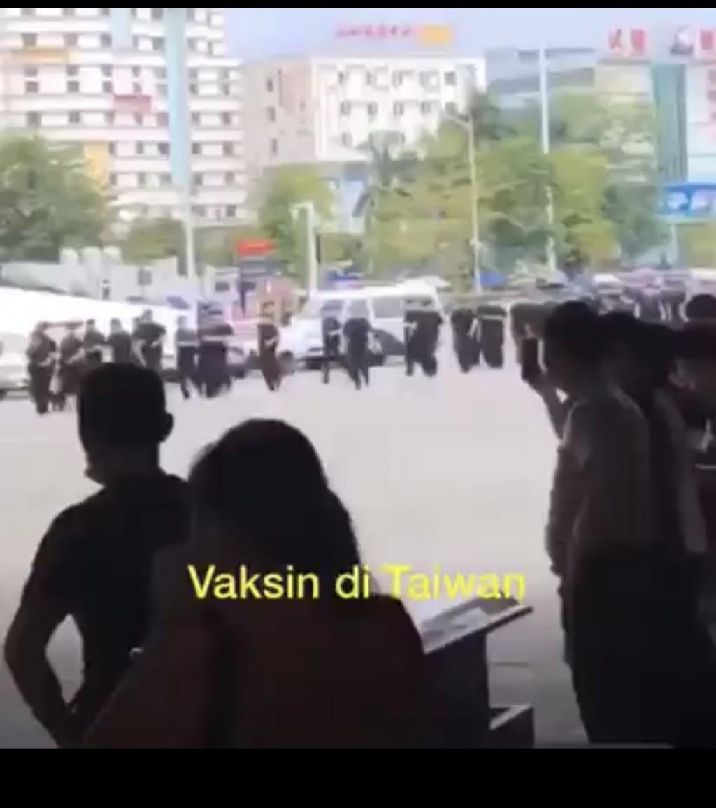 馬來西亞前官員「散佈假訊息」!錯引中國廣東民眾搶種疫苗當台灣