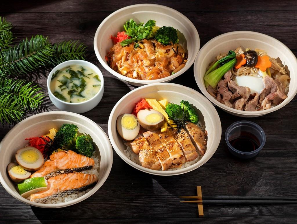 香格里拉台北遠東國際大飯店 防疫美食 ibuki五星級日式丼飯 外帶外送輕鬆享