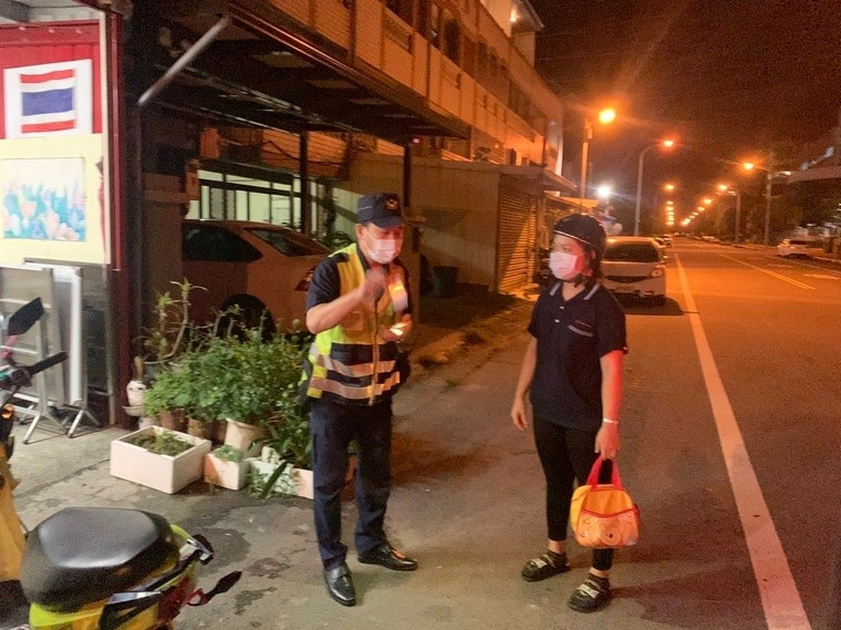21 migrant workers in Miaoli questioned by police for venturing out