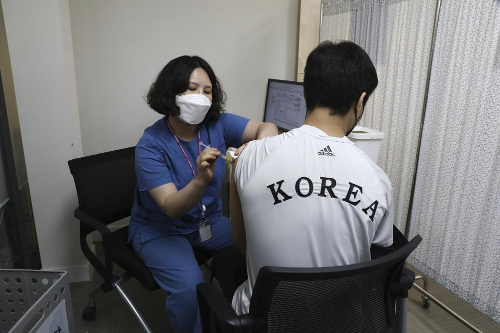 South Korea vaccinated its athletes ahead of the Tokyo Olympics
