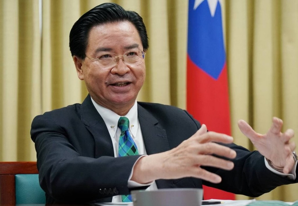 Taiwan Foreign Minister Joseph Wu (Ministryof Foreign Affairs photo)