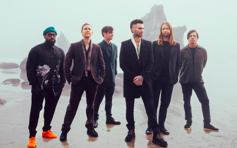 Maroon 5推出新專輯《喬迪》(圖/環球西洋)