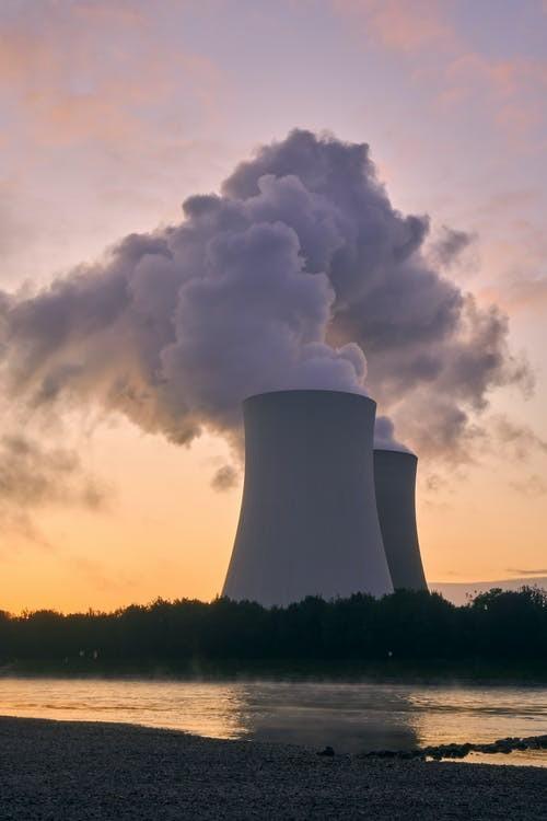 核電廠示意圖(圖/Pexels)