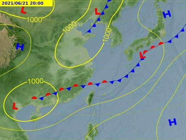 (Central Weather Bureau photo)